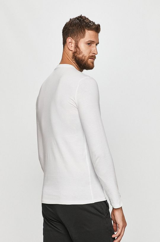 Guess Jeans - Tričko s dlouhým rukávem  100% Bavlna