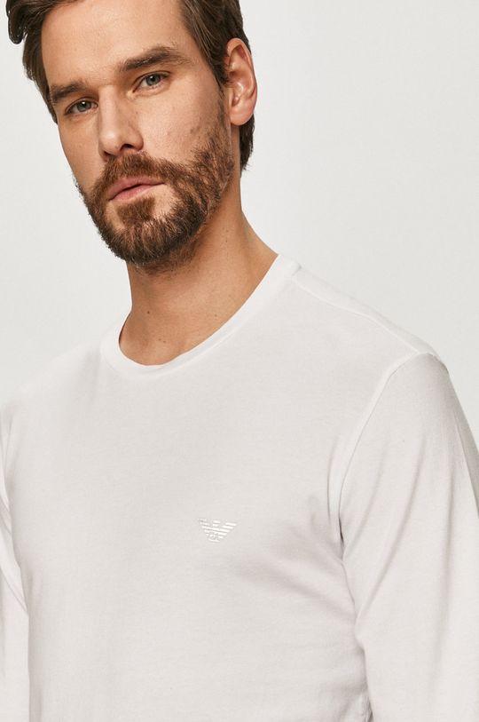 Emporio Armani - Longsleeve biały