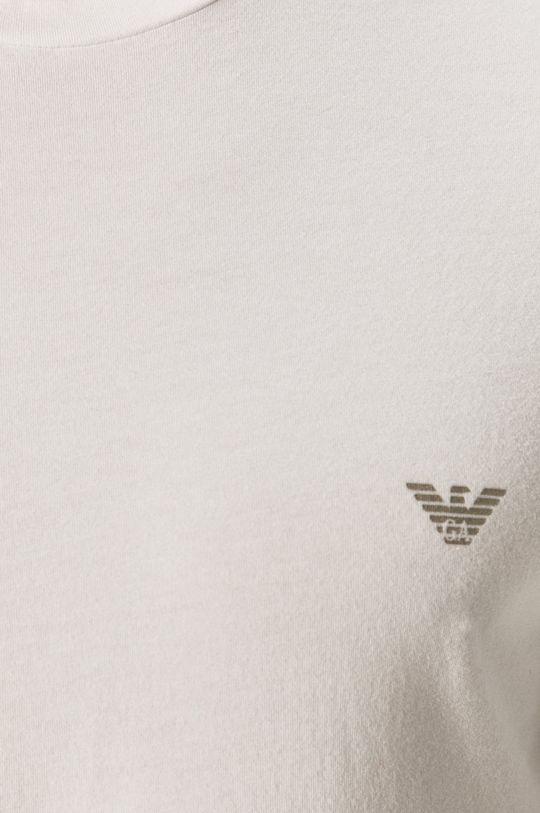 biały Emporio Armani - Longsleeve