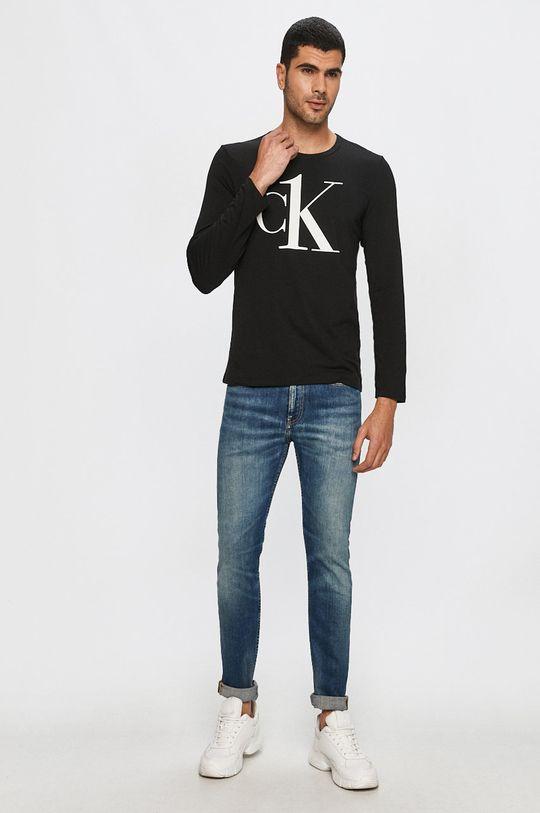 Calvin Klein Underwear - Tričko s dlhým rúkavom čierna