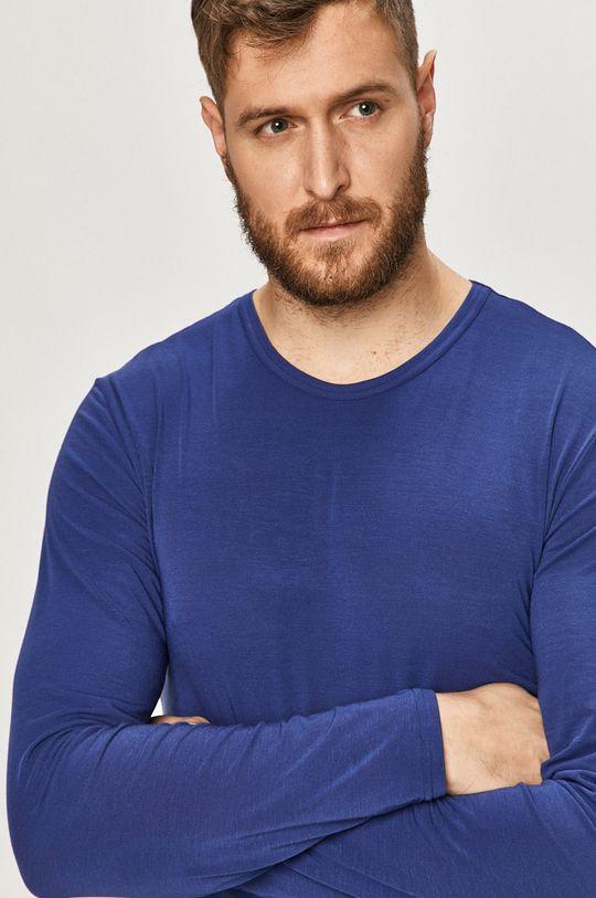 Calvin Klein Underwear - Tričko s dlouhým rukávem námořnická modř