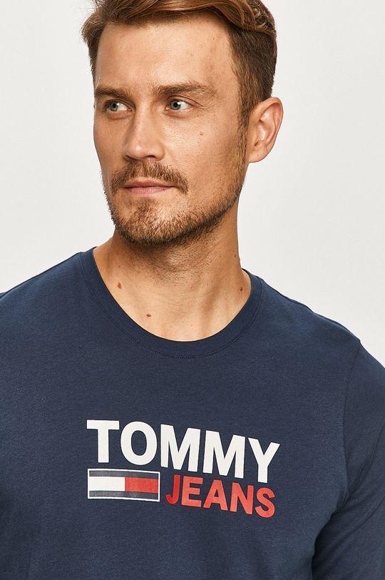 bleumarin Tommy Jeans - Longsleeve