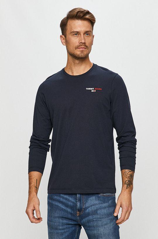 bleumarin Tommy Jeans - Longsleeve De bărbați
