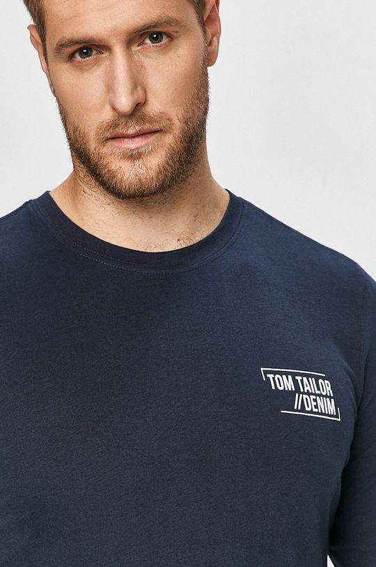 granatowy Tom Tailor Denim - Longsleeve