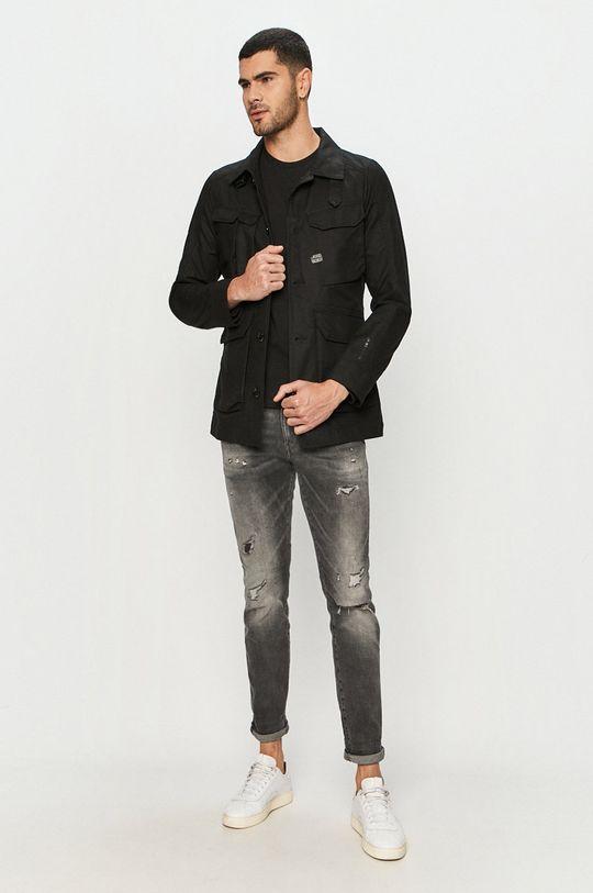 Levi's - Tričko s dlouhým rukávem černá