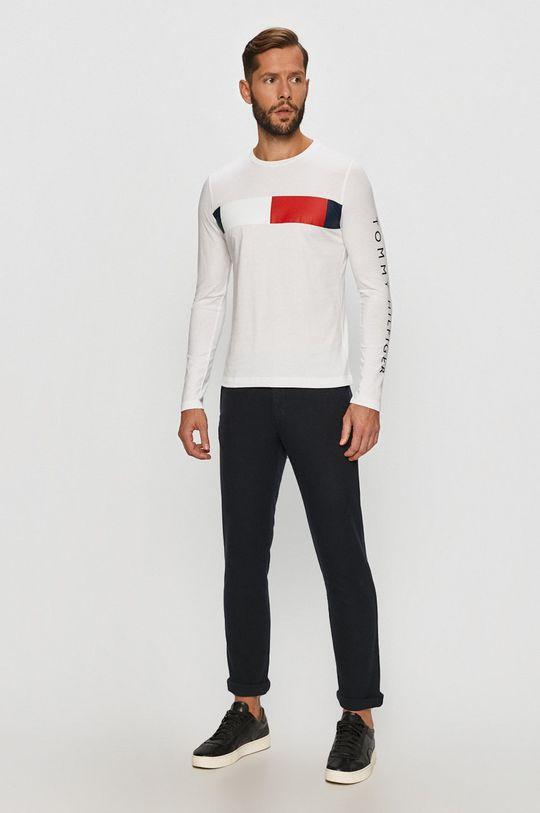 Tommy Hilfiger - Tričko s dlouhým rukávem bílá