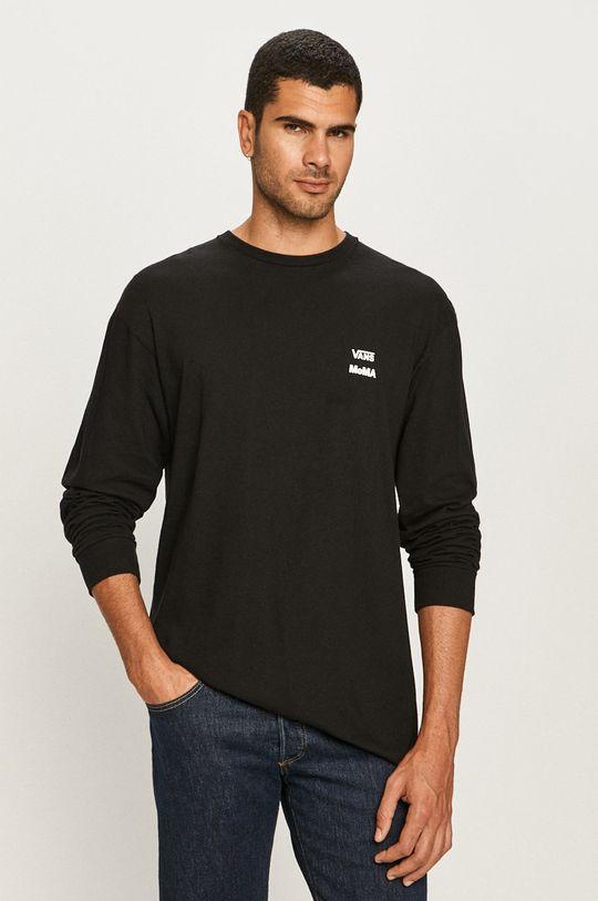 Vans - Tričko s dlhým rukávom čierna