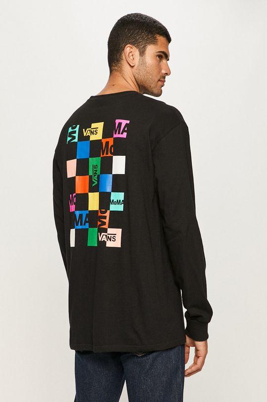 čierna Vans - Tričko s dlhým rukávom
