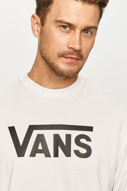 biały Vans - Longsleeve Męski
