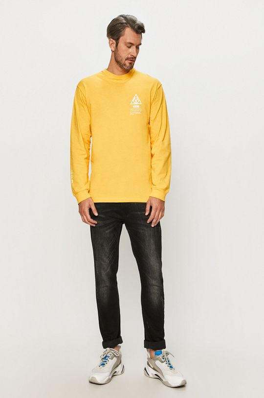 Vans - Tričko s dlouhým rukávem žlutá