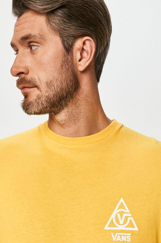 žlutá Vans - Tričko s dlouhým rukávem
