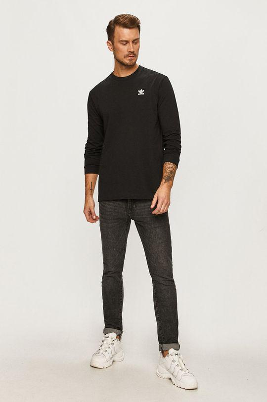 adidas Originals - Лонгслив чёрный
