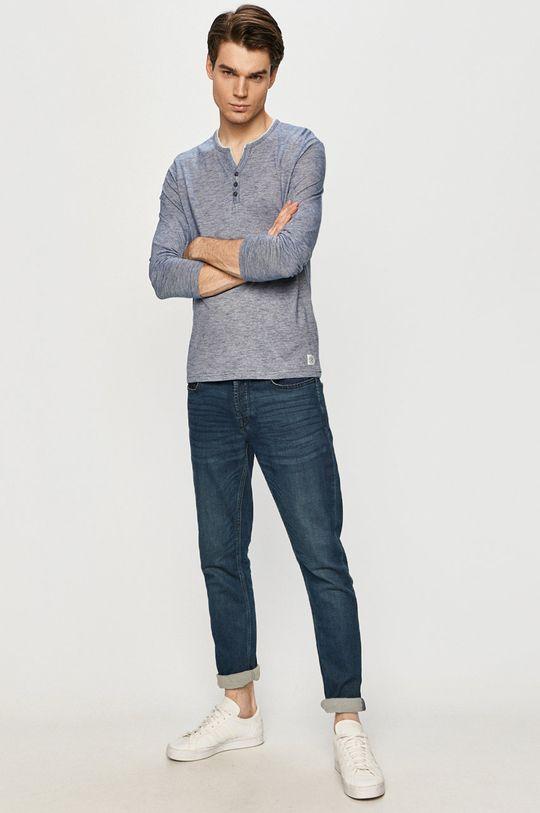 Tom Tailor - Longsleeve niebieski