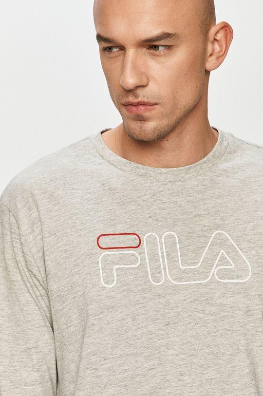 jasny szary Fila - Longsleeve