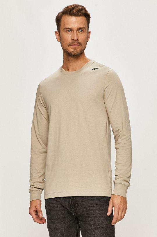 szary Nike Sportswear - Longsleeve Męski
