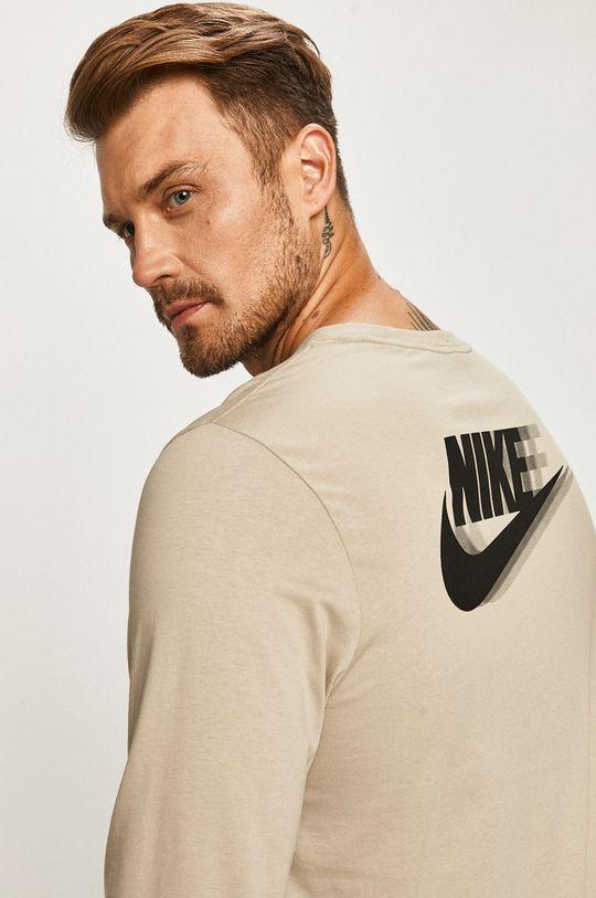 szary Nike Sportswear - Longsleeve