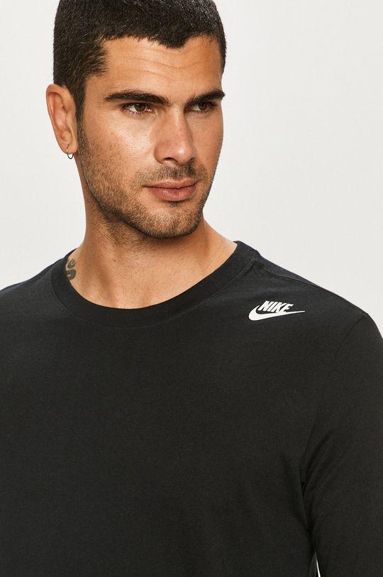 čierna Nike Sportswear - Tričko s dlhým rukávom Pánsky