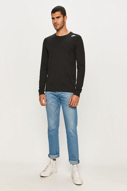 Nike Sportswear - Tričko s dlhým rukávom  100% Bavlna
