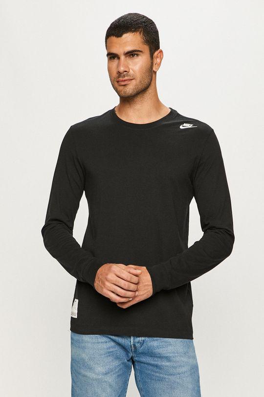 čierna Nike Sportswear - Tričko s dlhým rukávom