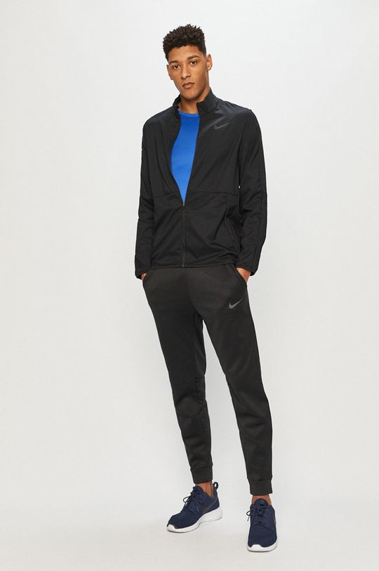 Nike - Tričko s dlouhým rukávem modrá