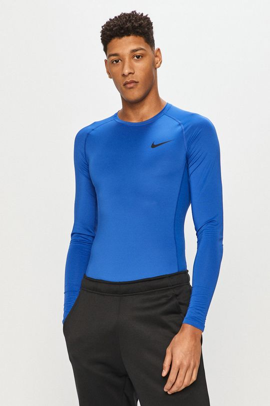 modrá Nike - Tričko s dlouhým rukávem