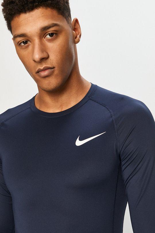 granatowy Nike - Longsleeve Męski