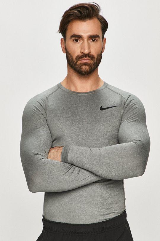 szary Nike - Longsleeve Męski