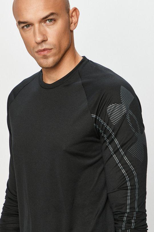 černá Under Armour - Tričko s dlouhým rukávem