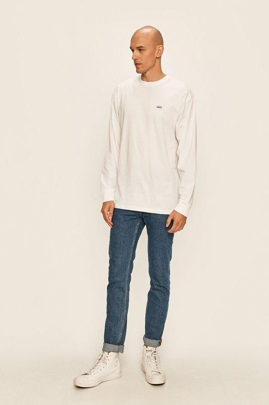 Vans - Tričko s dlhým rúkavom biela