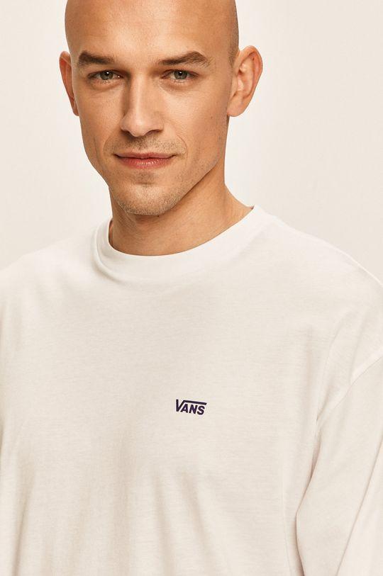 biela Vans - Tričko s dlhým rúkavom