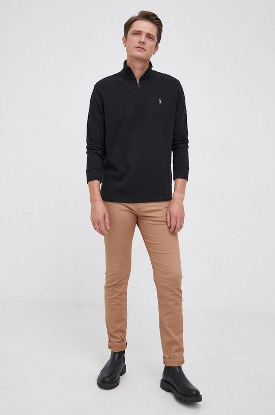Polo Ralph Lauren - Sweter bawełniany czarny