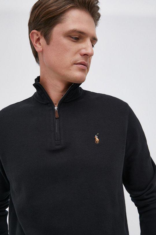 czarny Polo Ralph Lauren - Sweter bawełniany