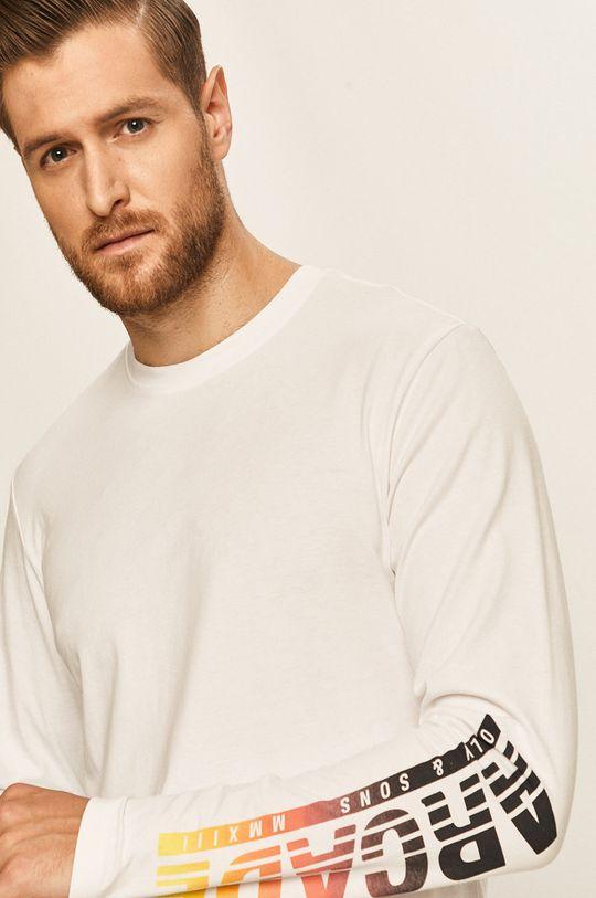 bílá Only & Sons - Tričko s dlouhým rukávem