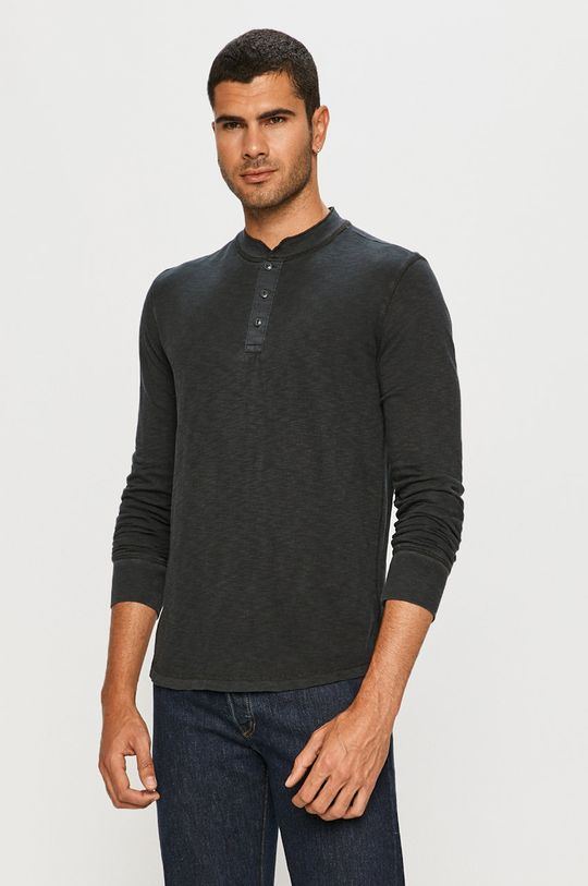 tmavomodrá GAP - Tričko s dlhým rukávom Pánsky