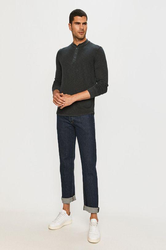 GAP - Tričko s dlhým rukávom tmavomodrá