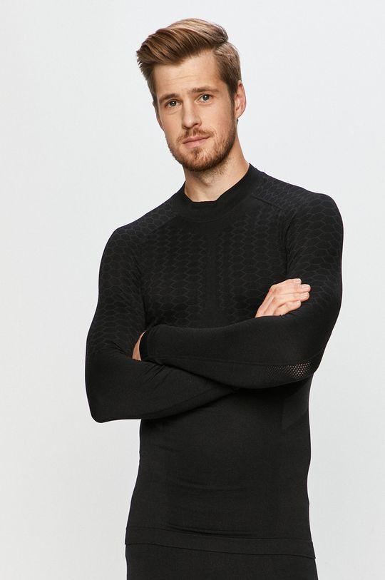 černá Diadora - Tričko s dlouhým rukávem Pánský