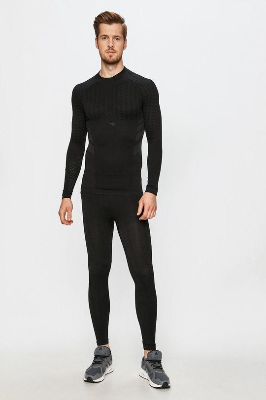 Diadora - Tričko s dlouhým rukávem černá