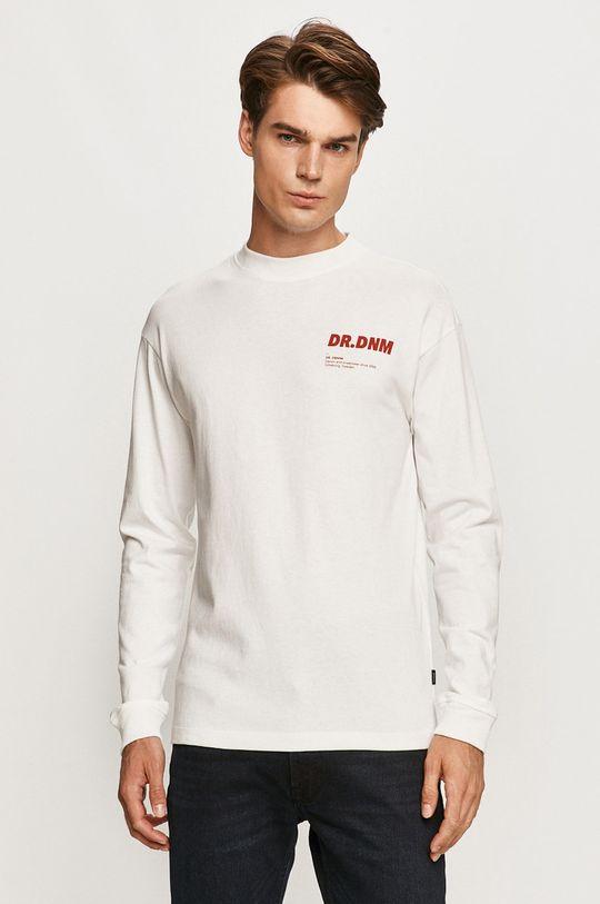 biela Dr. Denim - Tričko s dlhým rukávom