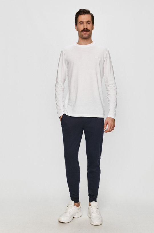 Hugo - Tričko s dlhým rukávom biela