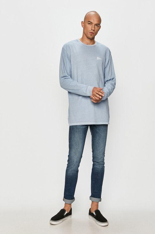 Vans - Tričko s dlouhým rukávem světle modrá