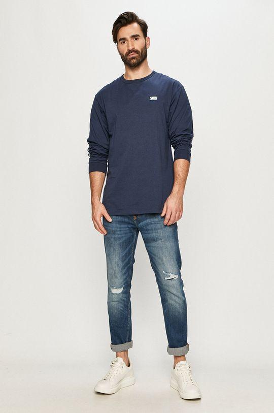 Vans - Tričko s dlouhým rukávem námořnická modř