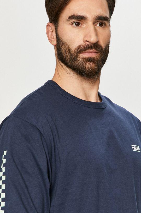 námořnická modř Vans - Tričko s dlouhým rukávem