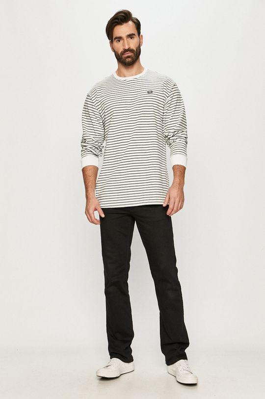 Vans - Tričko s dlouhým rukávem bílá