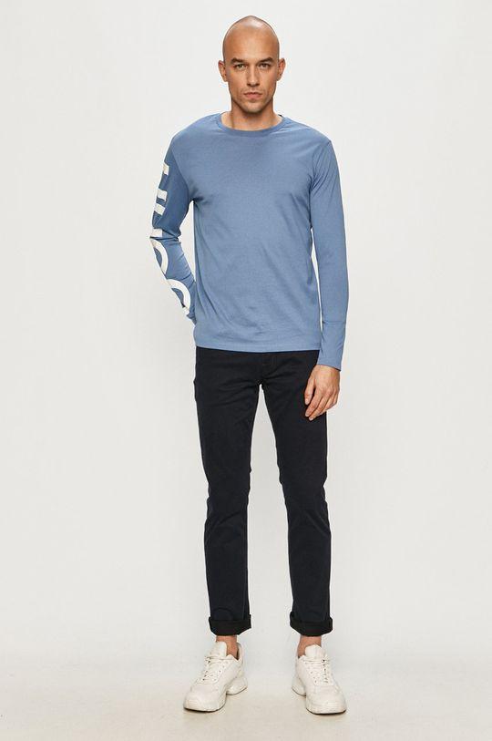 Hugo - Longsleeve niebieski