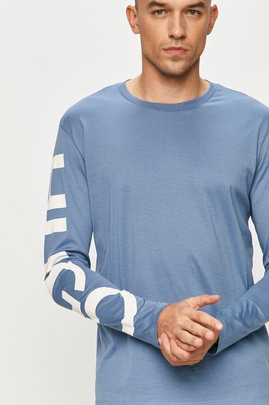 niebieski Hugo - Longsleeve