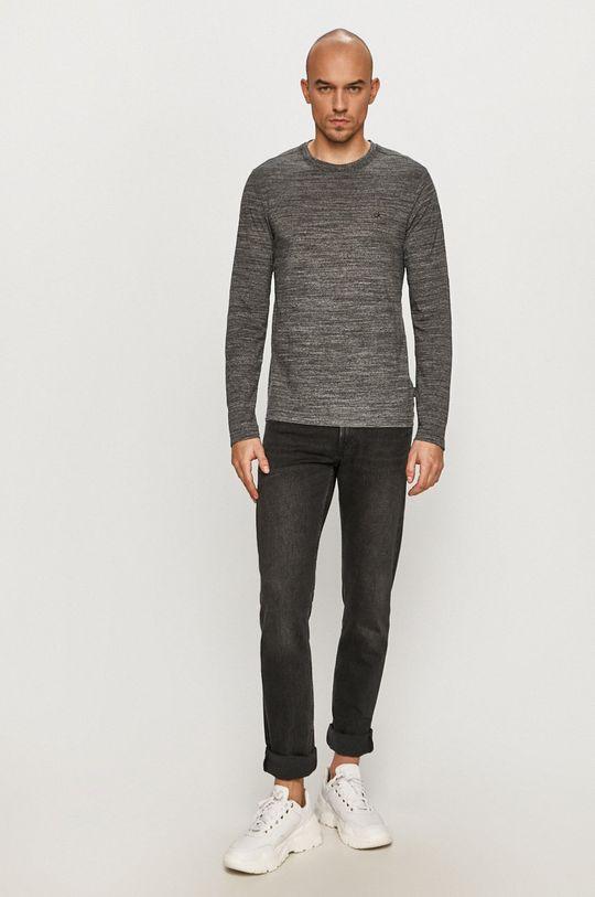 Calvin Klein - Tričko s dlouhým rukávem černá