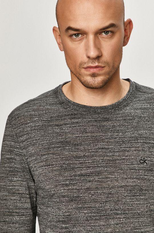 černá Calvin Klein - Tričko s dlouhým rukávem