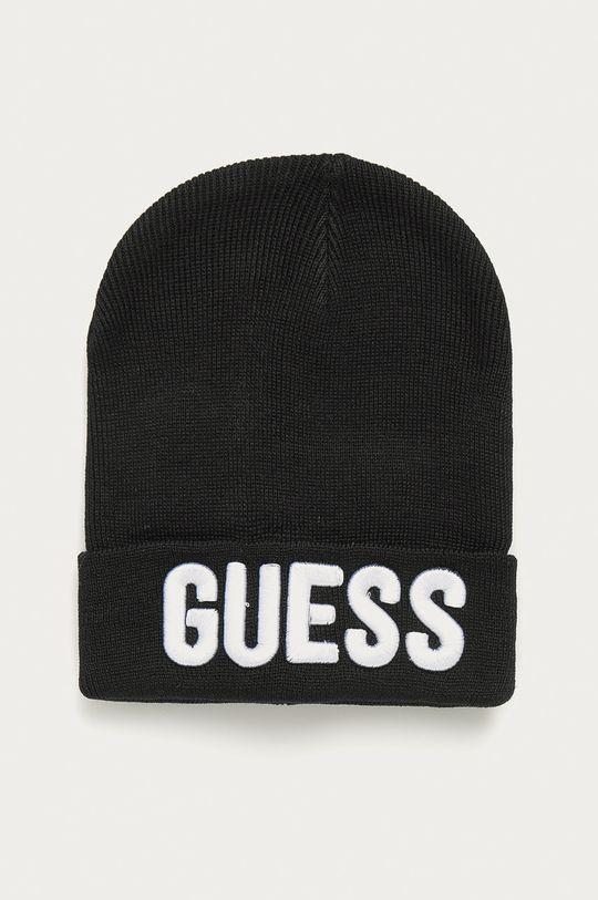 čierna Guess Jeans - Detská čiapka Chlapčenský