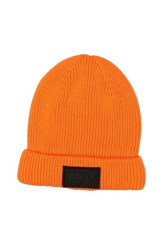 oranžová Boss - Dětska čepice Chlapecký
