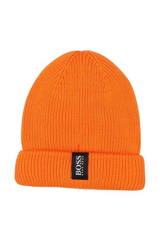 Boss - Dětska čepice oranžová